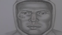Sketch of suspected shooter