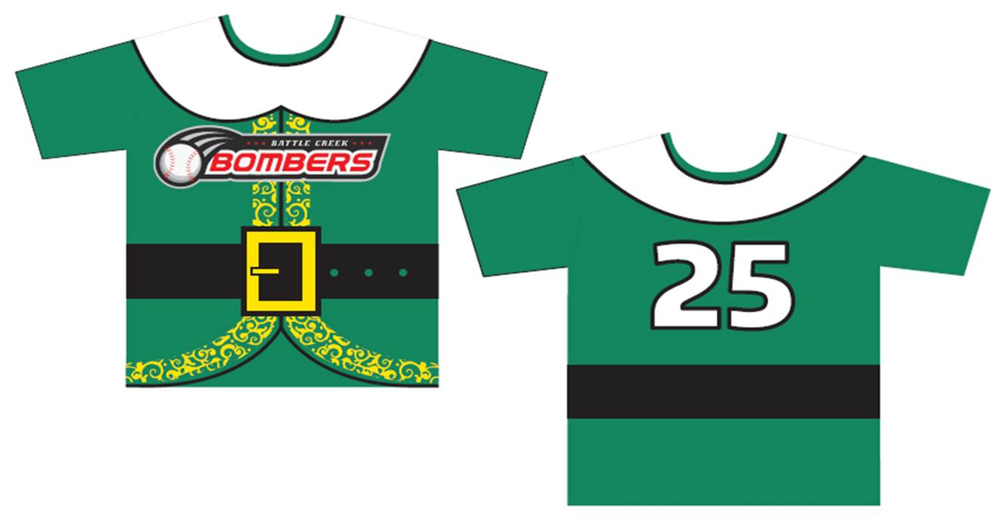 Bombers unveil  Elf -themed jerseys fbb687a5e