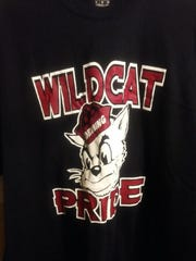 "Deming High School SkillsUSA members will be selling ""Wildcat Pride"" t-shirts as a fundraiser for the group."