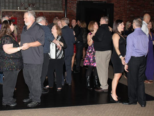 Some Marion County residents decided to dance in the new year during the New Year's Eve Winter Wonderland Gala at Park Place in Marion.