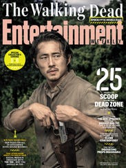 Entertainment Weekly cover featuring Steven Yeun, one