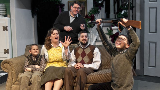 """""""A Christmas Story"""" returns to the Ti-Ahwaga Performing Arts Center for a 14th year."""