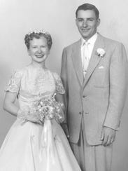 Don and Betty Raunig, 1956