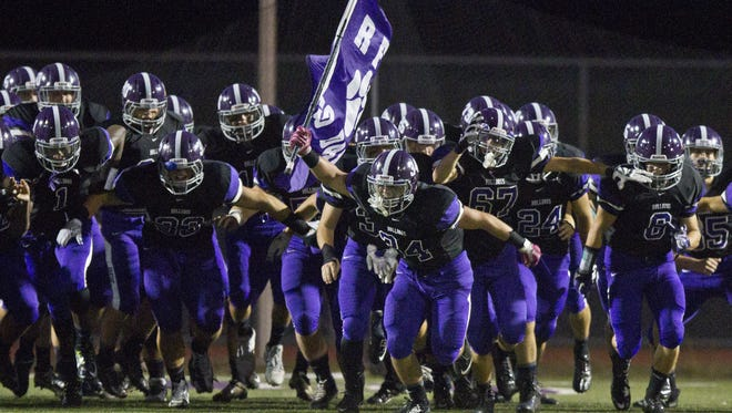 Rumson-Fair Haven will be trying to win its fourth consecutive NJSIAA sectional football championship this fall
