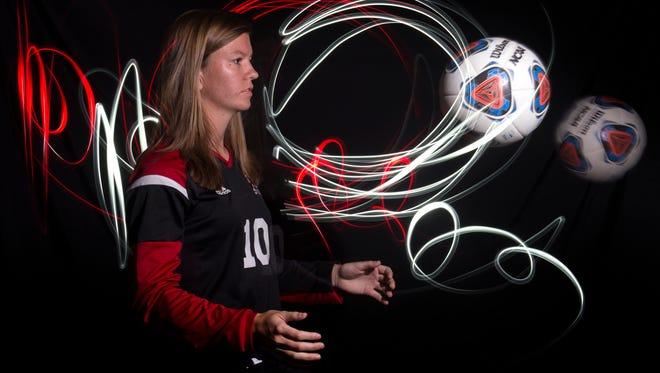 Madelaine Rhodes of Vero Beach High School, all-area girls soccer finalist.