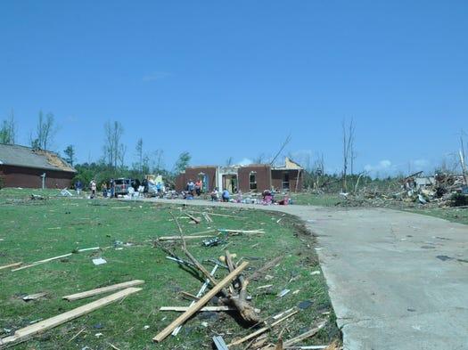 Winston County tornado destruction