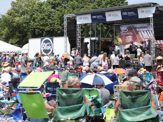 Scenes from the Pleasantville Music Festival at Parkway