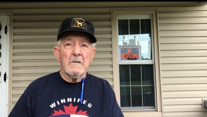 Paul Webb, 83, says he was scammed into buying a home for his grandson.