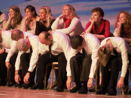 Performers for the upcoming Marion Palace production