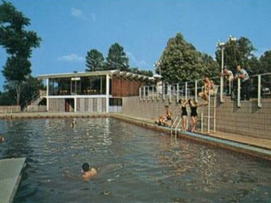 While it was an active spa, Hot Wells Resort featured a swimming pool, restaurant, bathhouses and motel.