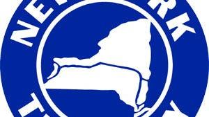 New York state Thruway logo.