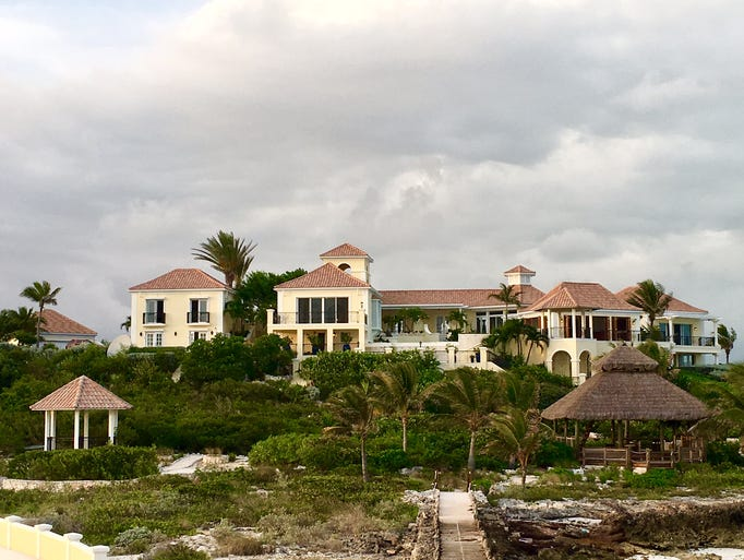 Prince's Caribbean mansion in Turks and Caicos is going