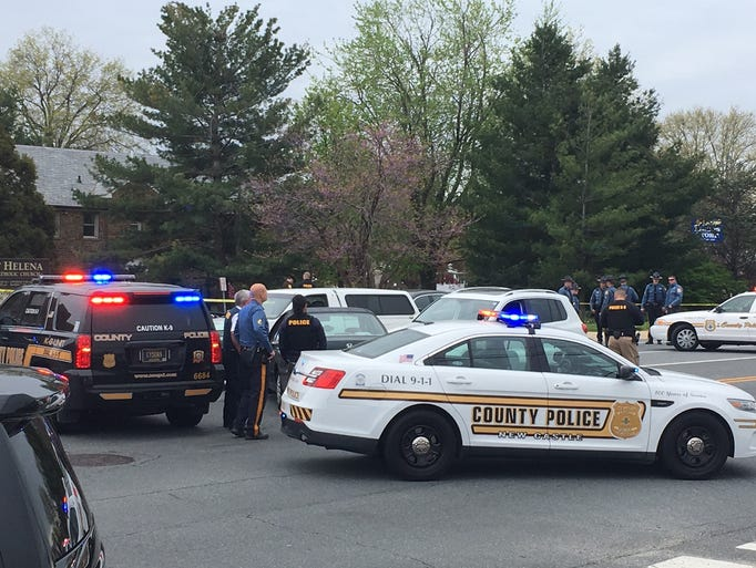 Bellefonte Police Car Crash
