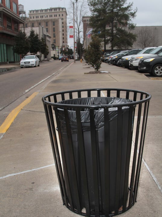 New Trash Cans