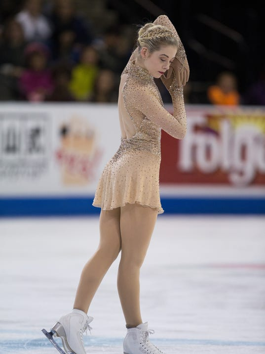 Gracie Gold addresses issues of weight, physical shape in ...Gracie Gold Dress