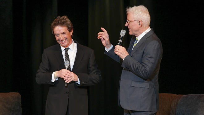 Steve Martin, right, and Martin Short will perform March 5 at Old National Centre.