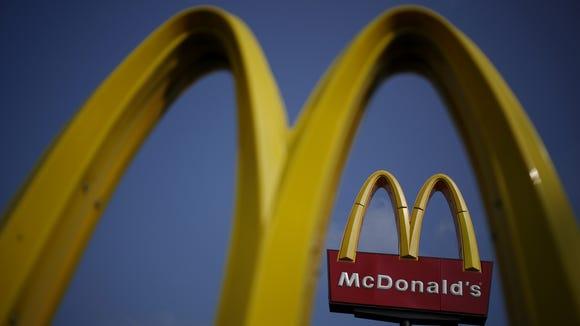 McDonald's Corp. signage