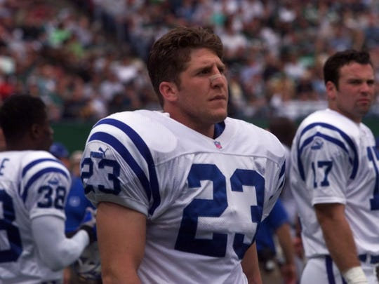 Former Lacey standout Keith Elias, shown playing for the Indianapolis Colts in a 1999 game against the Jets at the Meadwolands.