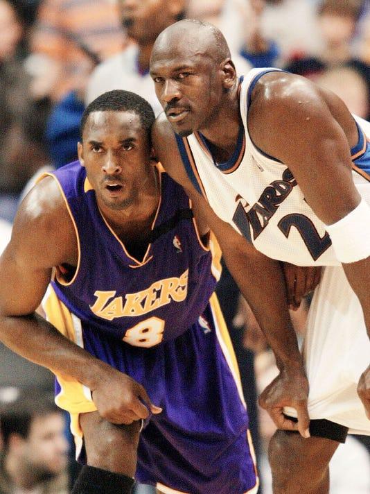 Kobe Bryand and Michael Jordan