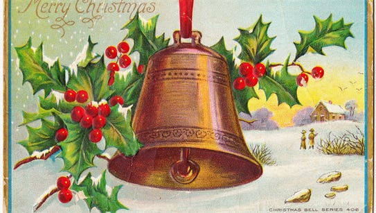 This cheery card was postmarked on December 14, 1915,