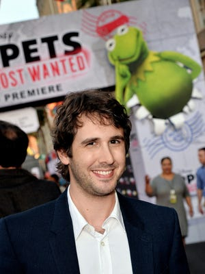 Josh Groban arrives at the premiere of Disney's 'Muppets Most Wanted' at the El Capitan Theatre on March 11, 2014 in Los Angeles.