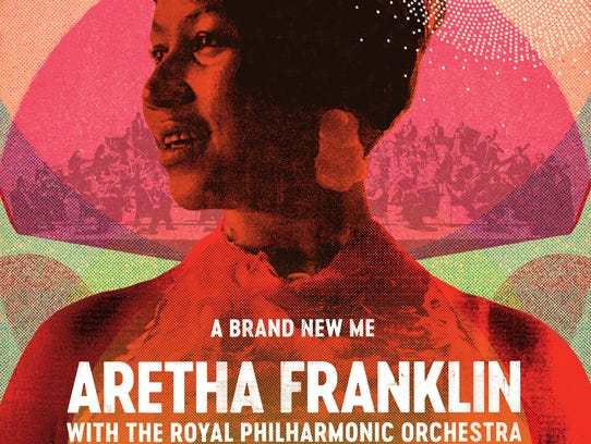"""Cover of """"A Brand New Me,"""" an album of Aretha Franklin"""