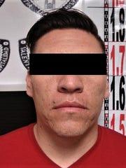 """Fabian Antonio G.R., alias """"El Wero,"""" suspected lieutenant in La Linea cartel."""