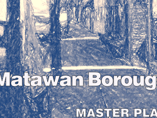 Cover page of Matawan's new master plan
