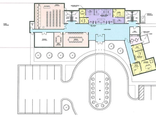 Port Huron Bill Vogan's latest layout for a potential