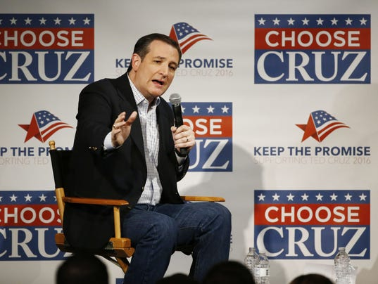Senator Ted Cruz Rally