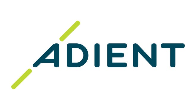 The corporate logo of Adient plc, which formally separated from Johnson Controls International on Oct. 31, 2016