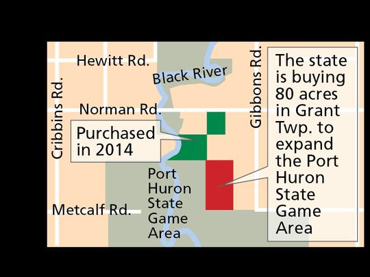 Port Huron State Game Area.