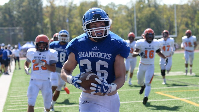 Catholic Central's Cam Ryan was named to the All-Catholic (Central) team.