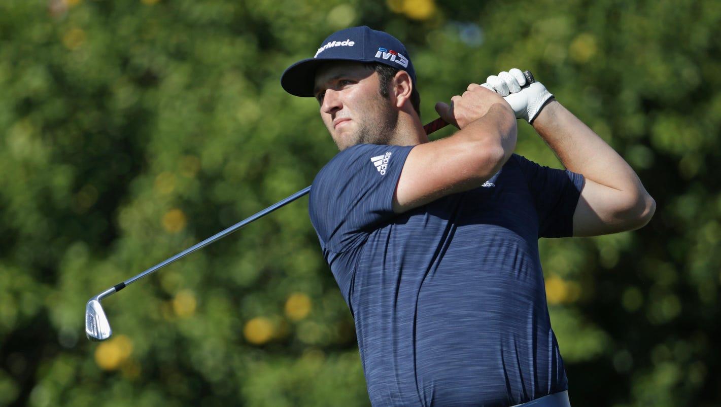 Thursday's golf: Jon Rahm shoots 62, takes lead
