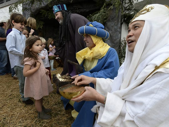 Walk through Bethlehem at Woodmont Christian Church is one of Nashville's  most popular Christmas traditions.