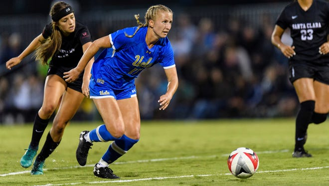 Buena High graduate Hailie Mace was drafted No. 2 overall in the National Women's Soccer League college draft, but she may play overseas instead.