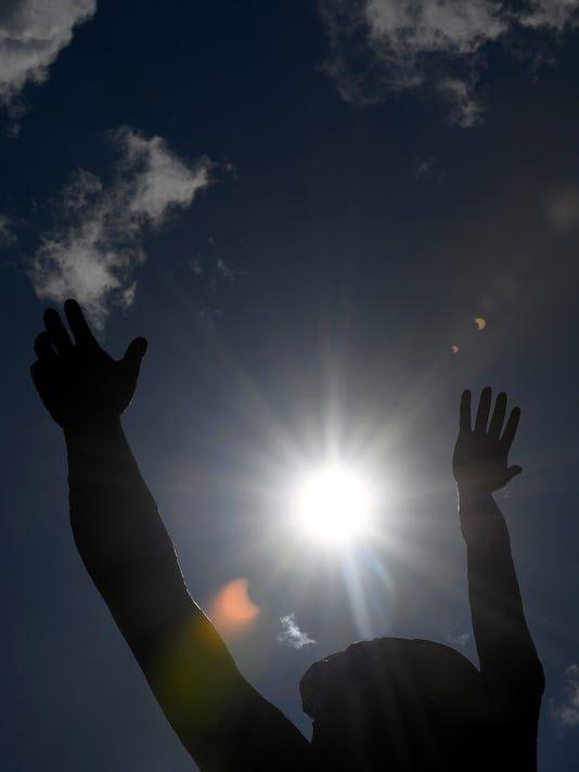 USP NEWS: 2017 AMERICAN SOLAR ECLIPSE A USA TN