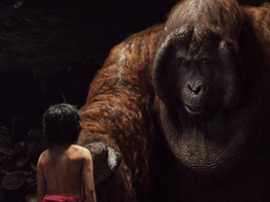 """The Jungle Book"" tells the story of Mowgli and King Louie."