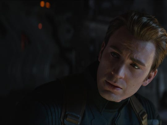 "Chris Evans stars in ""Avengers: Endgame."" The movie is playing at Regal West Manchester Stadium 13, Frank Theatres Queensgate Stadium 13 and R/C Hanover Movies."