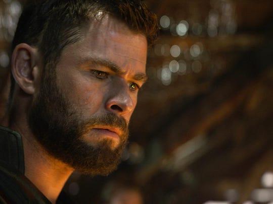 """The whole shoot felt pretty nostalgic,"" said Chris Hemsworth, who portrays Thor in ""Avengers: Endgame."""
