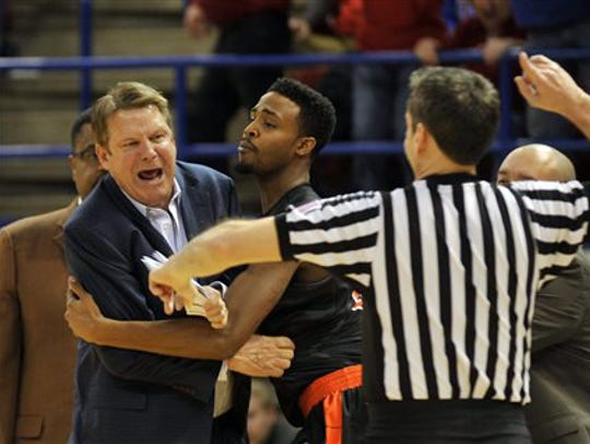 Tim Floyd was passionate in his 42 years of coaching,