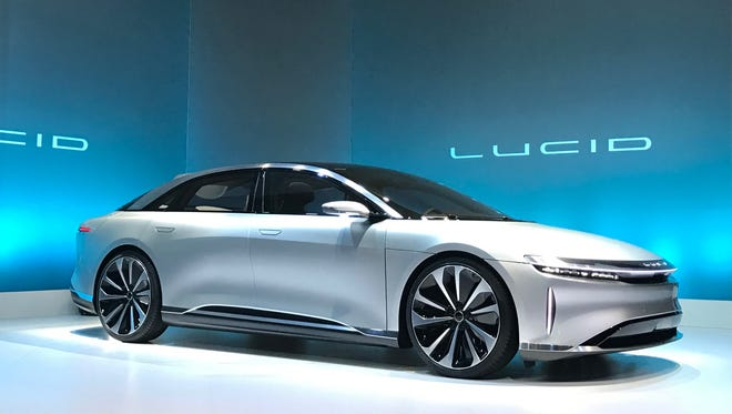 Lucid Motors revealed its first production car, the Lucid Air, which will be priced as high as $160,000.