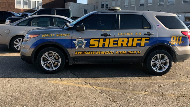 Henderson County Sheriff's Office vehicle