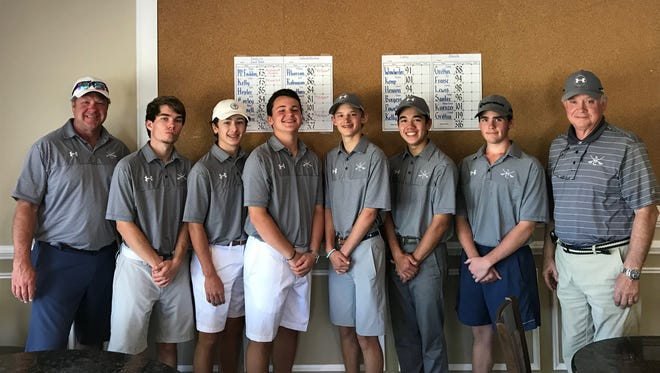 The Southside Christian School boys golf team finished second in the Region 2-AA tournament at Star Fort in Greenwood.
