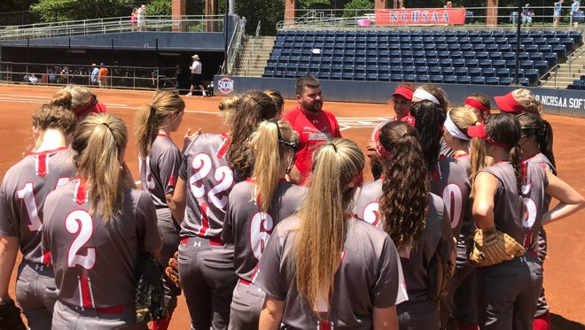 Franklin softball must win two game Sunday to clinch the 2A NCHSAA state championship