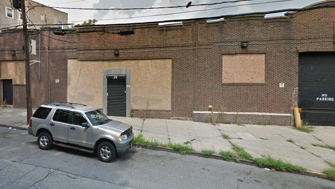 Artist David Hammons' future live-work space and gallery at 39 Lawrence St. in Yonkers.