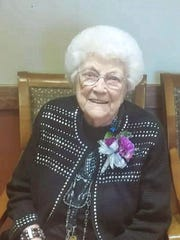 Inga Morris-Connolly celebrated her 102nd birthday