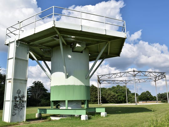 Remnants of the M-74 Integrated Fire Control site stands at Hillcrest Park in Waukesha. Ground-based radars, to detect Soviet aircraft, were located here and the missile launch site was about a mile south.