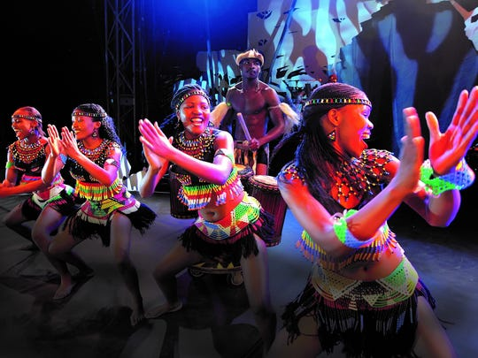 Cirque Zuma Zuma brings African dance and acrobatics to the Barre Opera House on Friday.