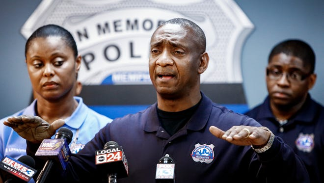 Memphis Police Association President Michael Williams